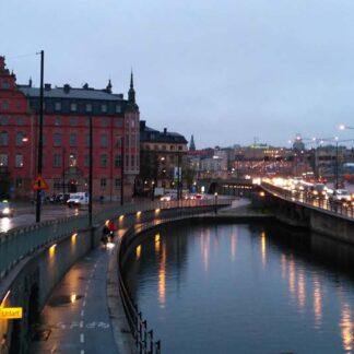 Карта прогулки по Стокгольму
