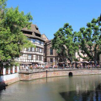 Карта прогулки по Страсбургу